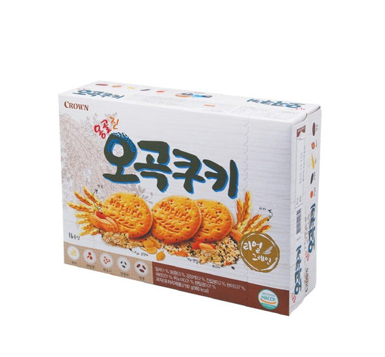 Crown 5 Real Grain Cookie (288g) - CoKoYam