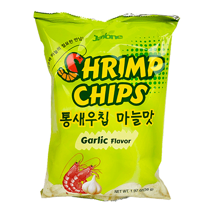 Jayone Shrimp Chip Garlic (56g) - CoKoYam