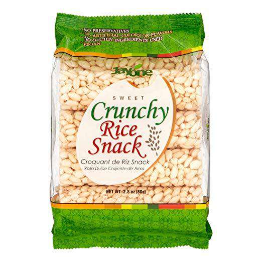 Jayone Crunchy Rice Snack Sweet Original (80g) - CoKoYam