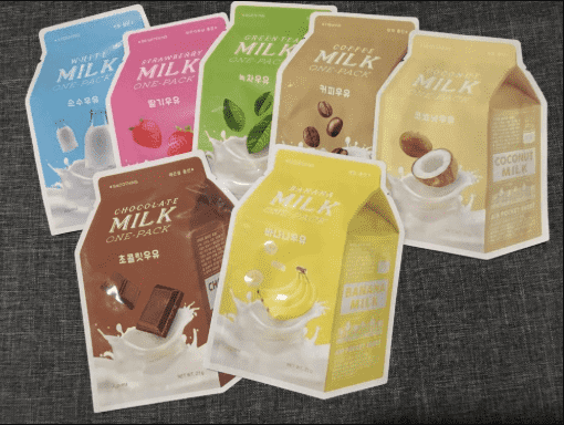 A'PIEU Milk One Pack #Chocolate Milk (1ea = 1sheet) - CoKoYam