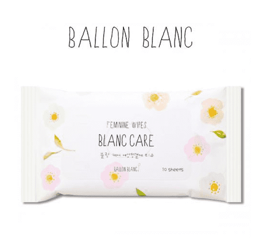 Ballon Blanc Blanc Care Feminine Wipes 10 sheets (48g) - CoKoYam