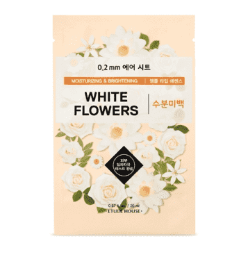 Etude House 0.2mm Therapy Air Mask #White Flowers - CoKoYam