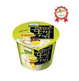 Chilkab Fresh Rice Cake w/ Soup Base Cup (174g) - CoKoYam