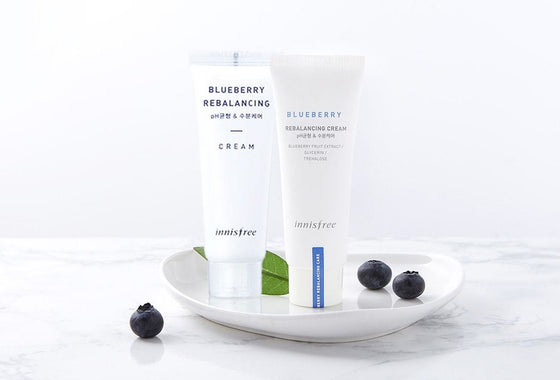 INNISFREE Blueberry Rebalancing Cream (50ml) - CoKoYam