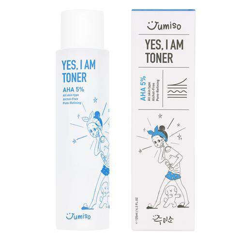 Jumiso Yes I Am Toner AHA 5% 125ml - CoKoYam