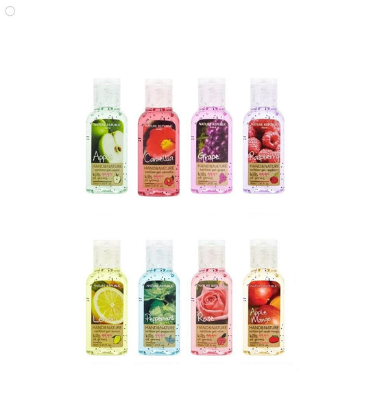 Nature Republic Hand Sanitizer 30ml x 8 Kinds (240ml) - [Discounted Item]