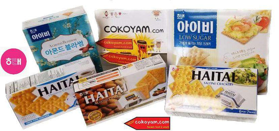 HaiTai Roly Poly Stick Biscuit (62g, 196g) - CoKoYam