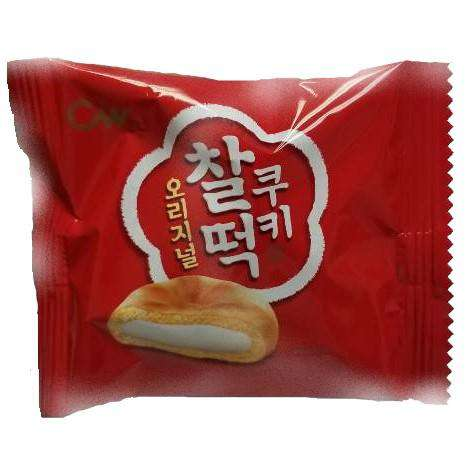 Chungwoo Rice Cake Cookie Original 12Pack(258g) - CoKoYam