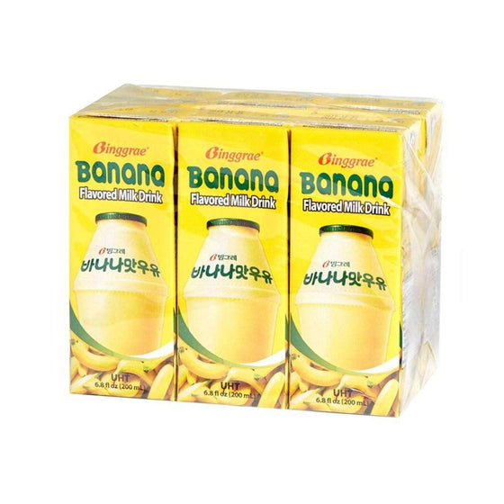Binggrae Banana Milk (200ml x 6pack) - CoKoYam