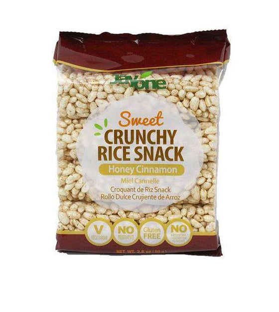 Jayone Crunchy Rice Snack Honey Cinnamon (80g) - CoKoYam
