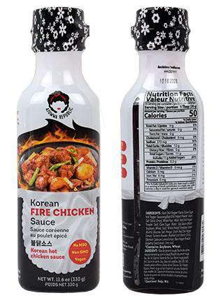 Ajumma Republic Fire Chicken Sauce (330g) - CoKoYam