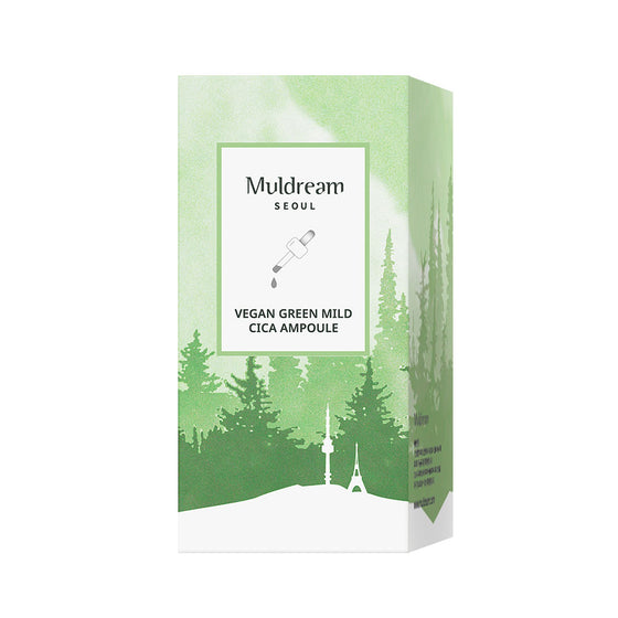 Muldream Vegan Green Mild CICA Ampoule (55ml) - [Discounted Item] - CoKoYam