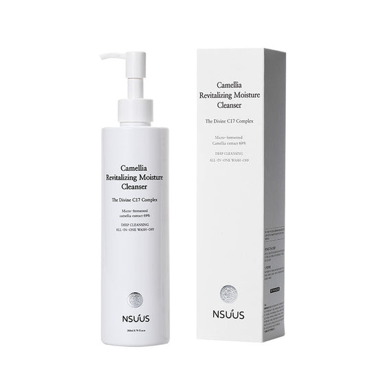 NSUUS Korean Camellia Revitalizing Moisture Cleanser (260ml) - CoKoYam