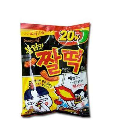 Samyang Hot Chicken Sauced Chaldduk Snack - Buldak Snack (120g) - CoKoYam