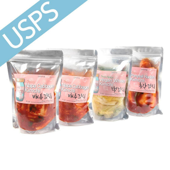 Ummamia Kimchi Sampler A (16oz, 32oz) / Shipped separately from the dry package - [Free Shipping Item]