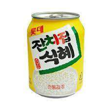 Lotte Rice Punch Drink Can (238ml) - Maximum order: 12 - CoKoYam
