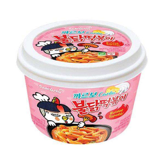 Samyang Topokki Carbo Hot Chicken Bowl - Buldak Tteokbokki (179g) - [Discounted Item] - CoKoYam