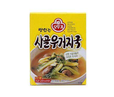 Ottogi Soup with Beef Bone & Vegetable Mix (22g) - CoKoYam