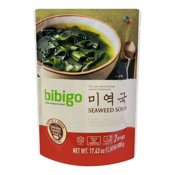CJ Bibigo Seaweed Soup (500g) - Maximum order: 2 - CoKoYam