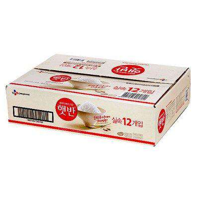 CJ Cooked White Rice Bowl (12 x 210g)-[Discounted Item] - CoKoYam