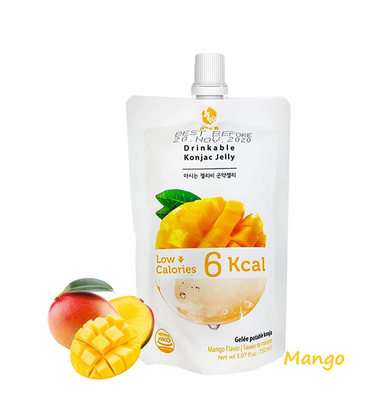 Jayone Jelly B Drinkable Konjac Jelly Mango 150ml - CoKoYam