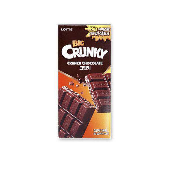 Lotte Big Crunky Chocolate (82g) - CoKoYam