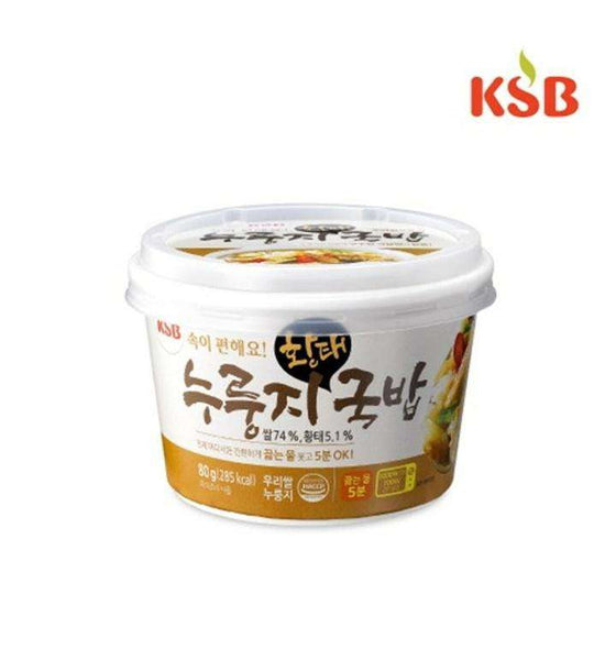 KSB Dried Pollack Soup with Crispy Rice Crust Big Bowl (80.0g) - CoKoYam