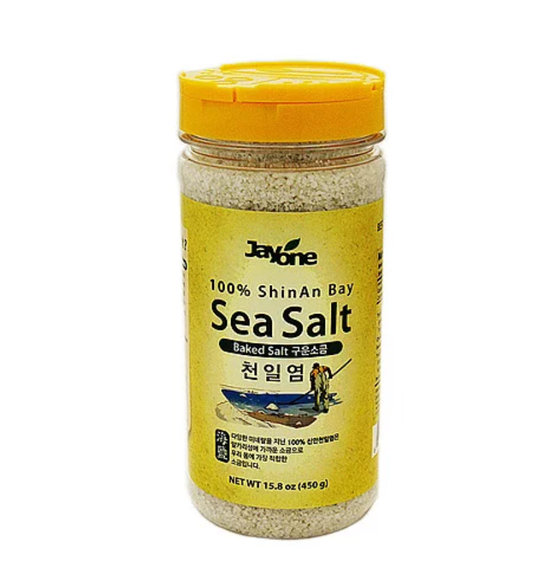 Jayone 100% Korea Baked Premium Sea Salt (450g) - CoKoYam