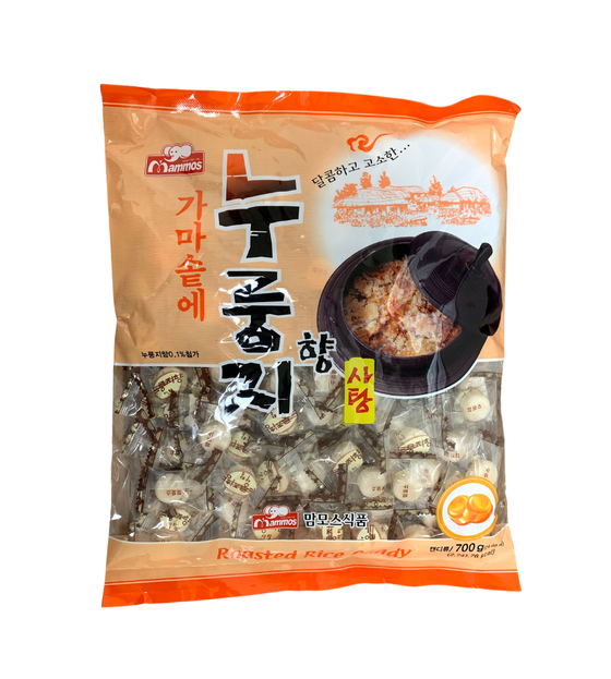 Mammos Nurungji(Scorched Rice) Candy (700g) - CoKoYam