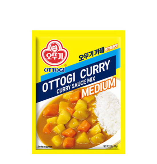 Ottogi Curry Mix Medium Spicy (100g) - CoKoYam