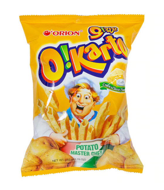 Orion O! Karto Cream & Cheese Flavor Chip (50g) - [Discounted Item] / Best Before Date: 12-19-2020 - CoKoYam