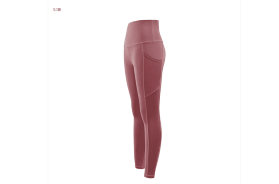 Xexymix XP1103E Mesh Leggings with Side Pocket - CoKoYam