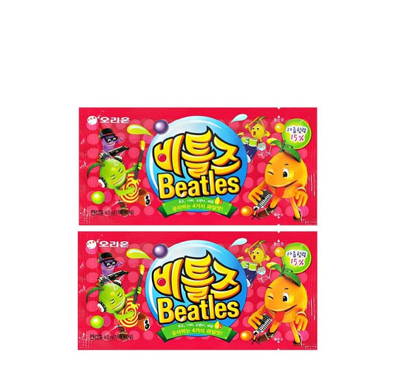ORION Candy Beatles 2 Pack (40g x 2Pack) - CoKoYam