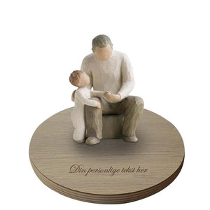 Grandfather figur med base fra Willow Tree