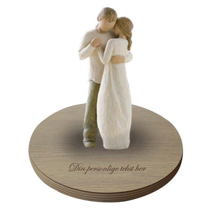 Promise figuren fra Willow Tree med base