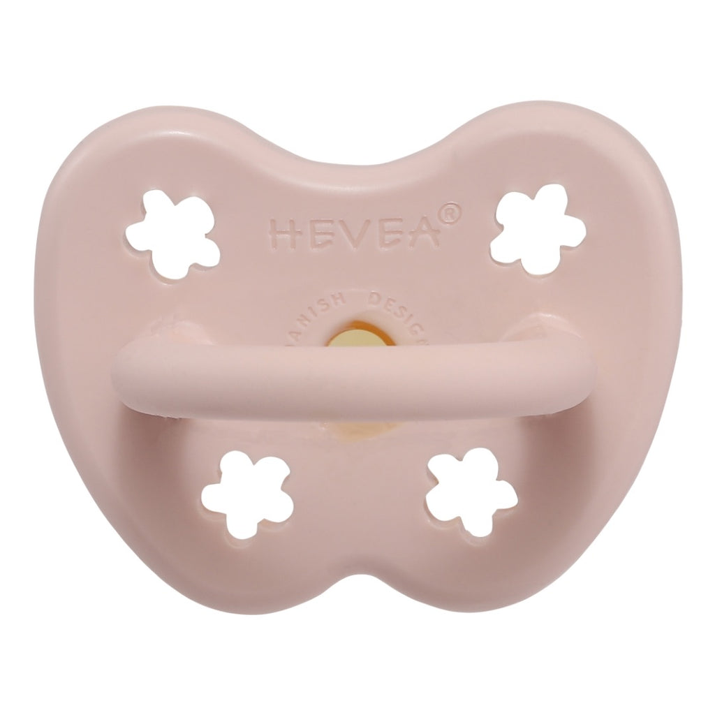 Hevea Pacifier, Powder Pink