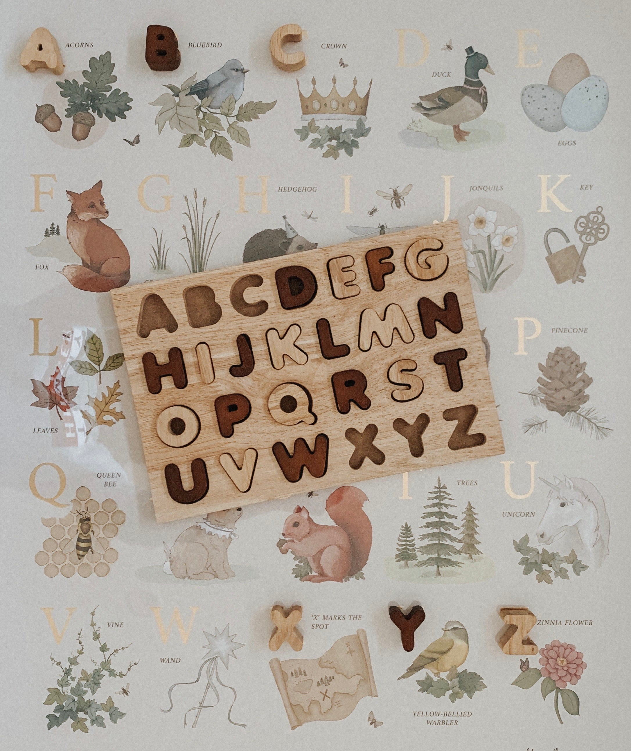 Alphabet Puzzle: Upper Case