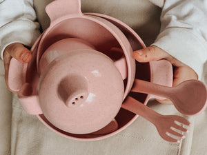 Sippy Cup Set - Blush