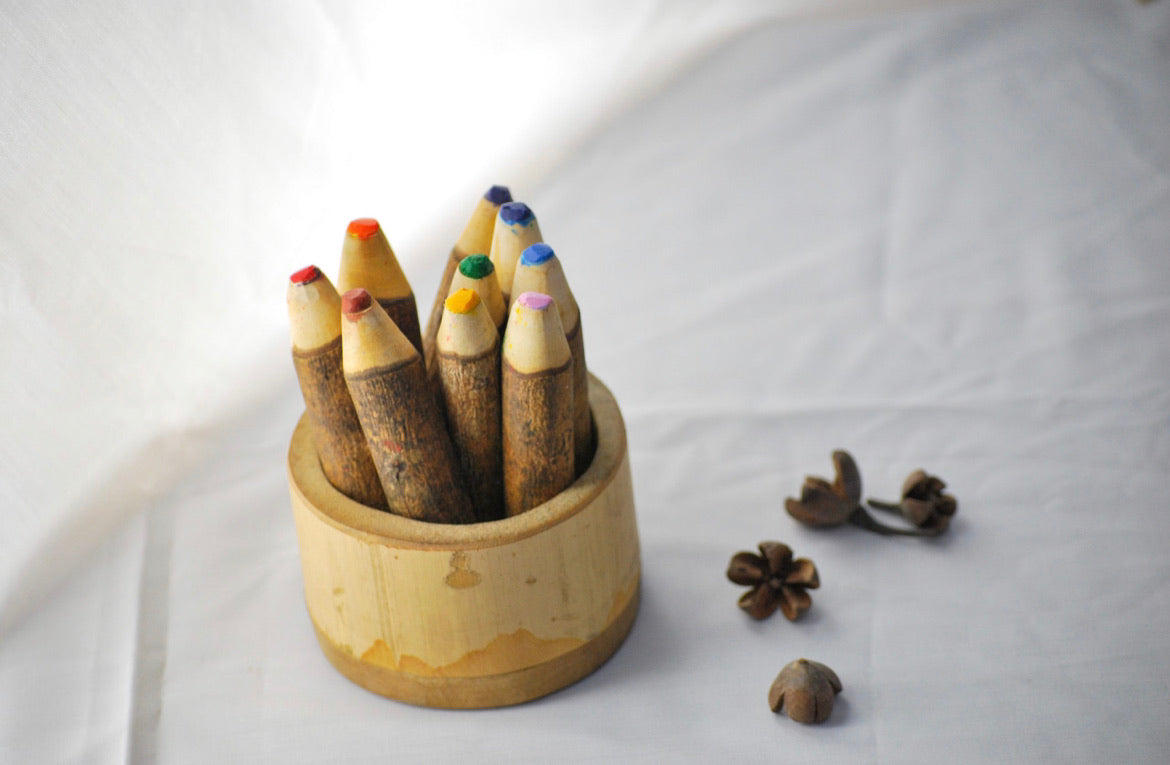 Tree colour pencil set