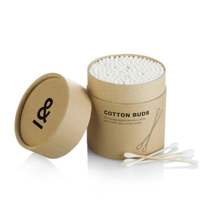 Cotton Bamboo Earbuds