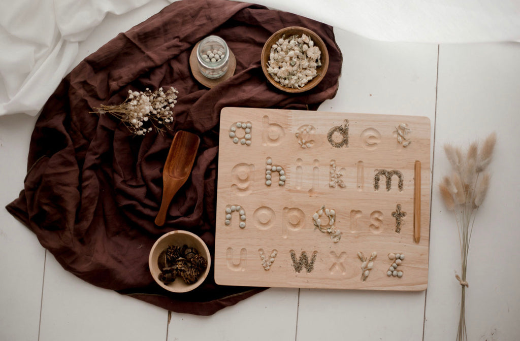 Lower Case Letter Tracing Board