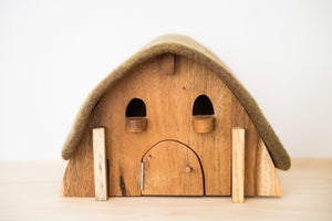 Gnome House with Felt Roof - Restock Early October