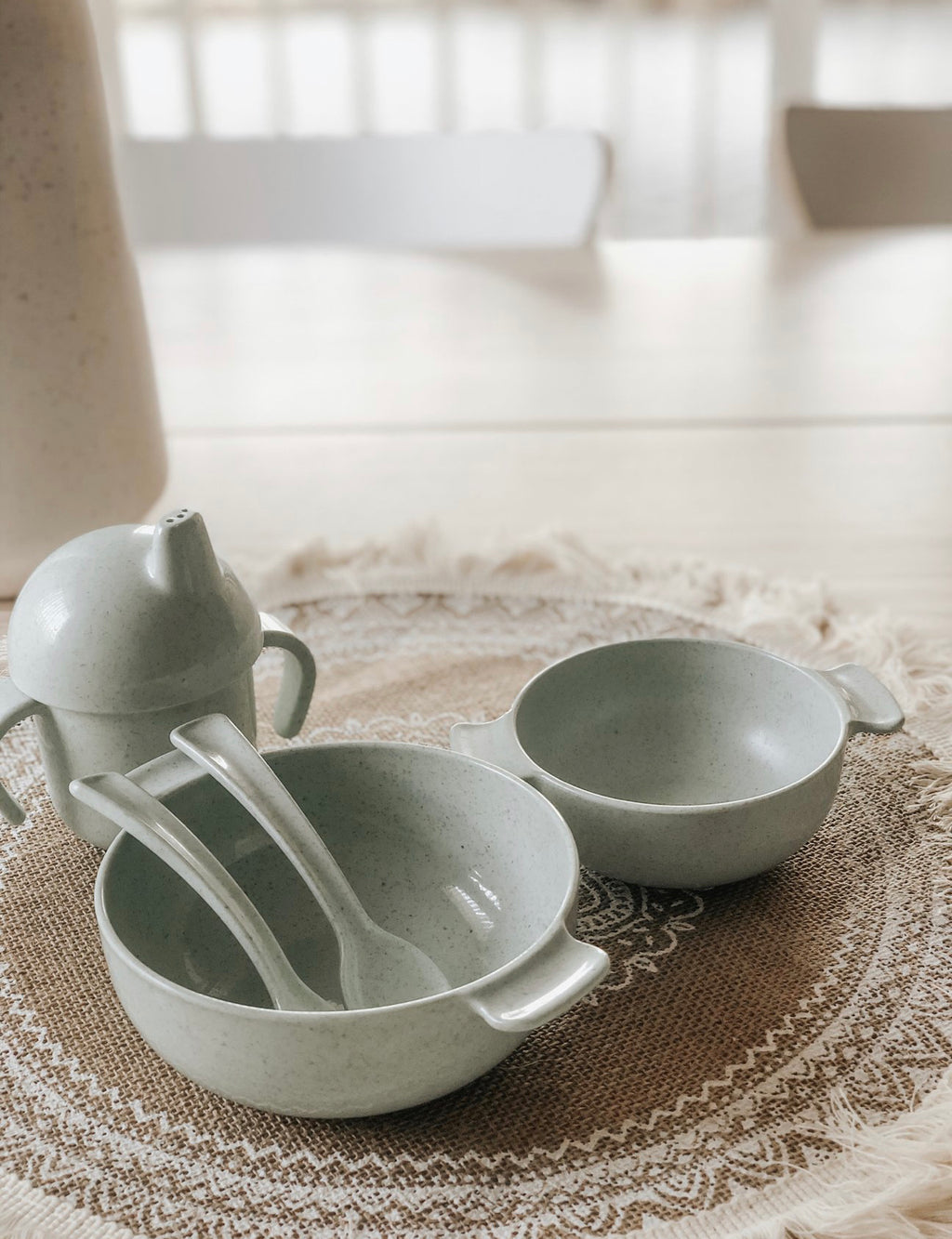 Sippy Cup Set - Sage
