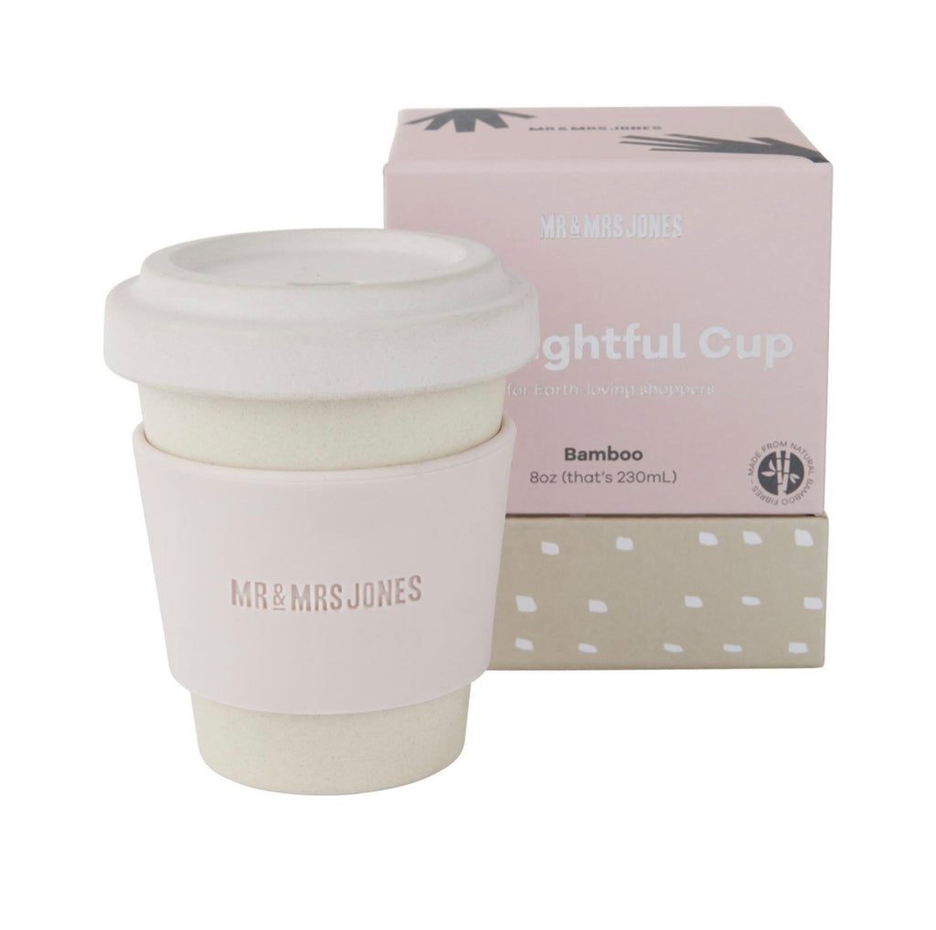Bamboo coffee cup - Dust  8oz