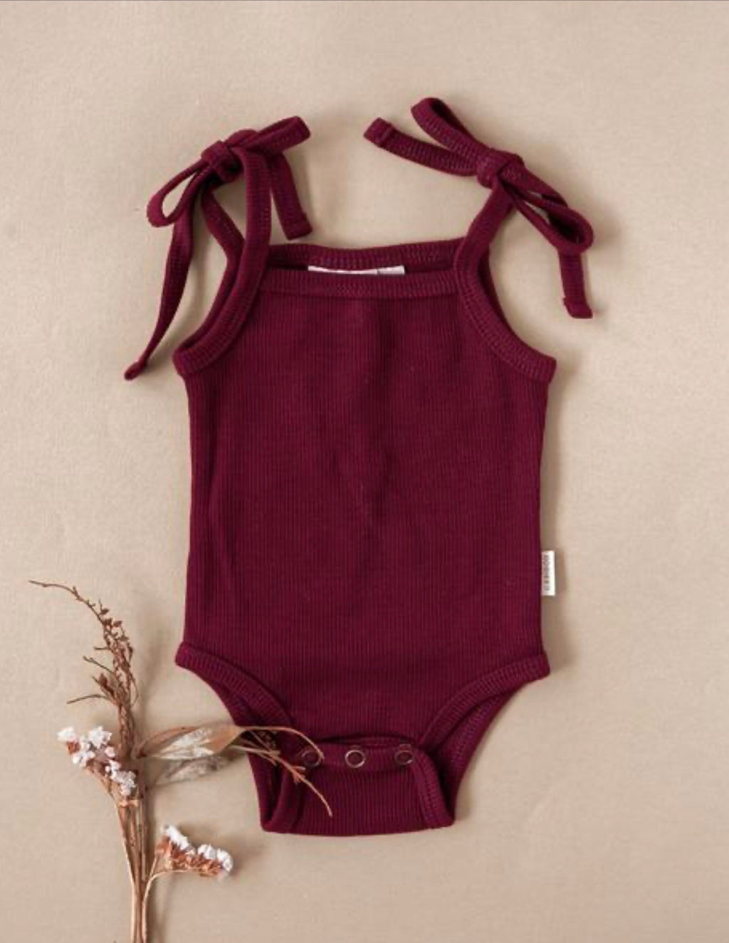 Sienna Cotton Sunsuit In Plum