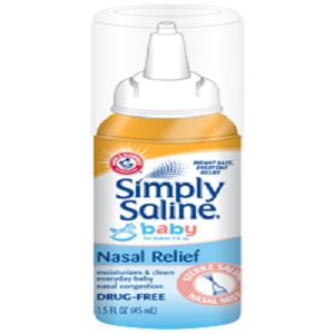 Arm And Hammer Simply Saline Baby Nasal Relief 1 5oz