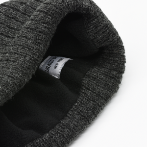 Fleeced Lined 100% Wool Beanie