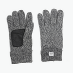 Grey Marled Wool Glove