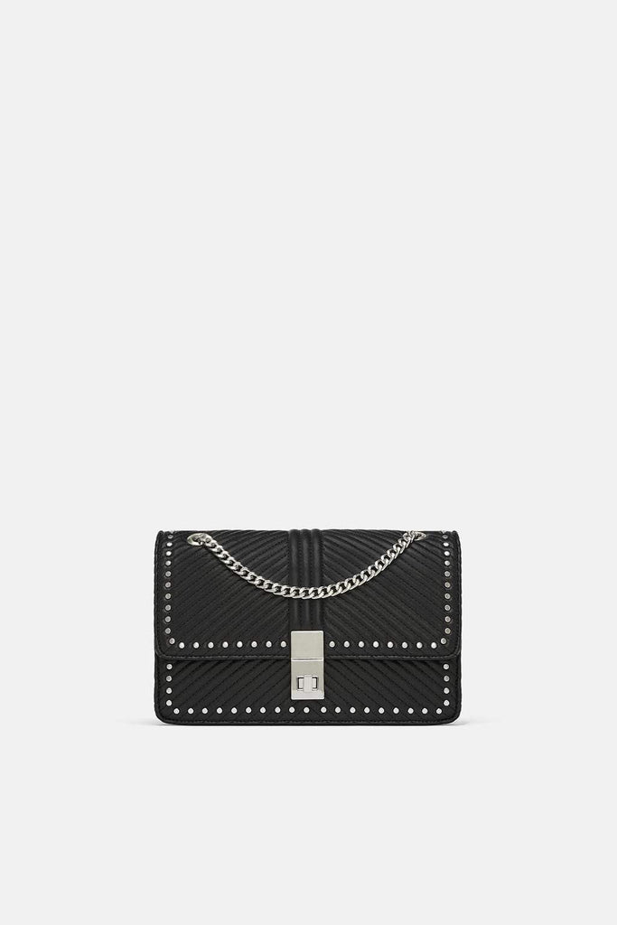 Zara Studded Crossbody Bag - houseofhighness