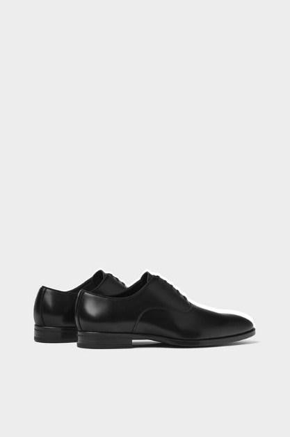 ZARA BLACK SMART SHOES - houseofhighness